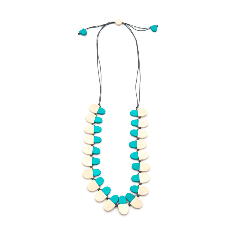 Two-tone Mixed Hills necklace