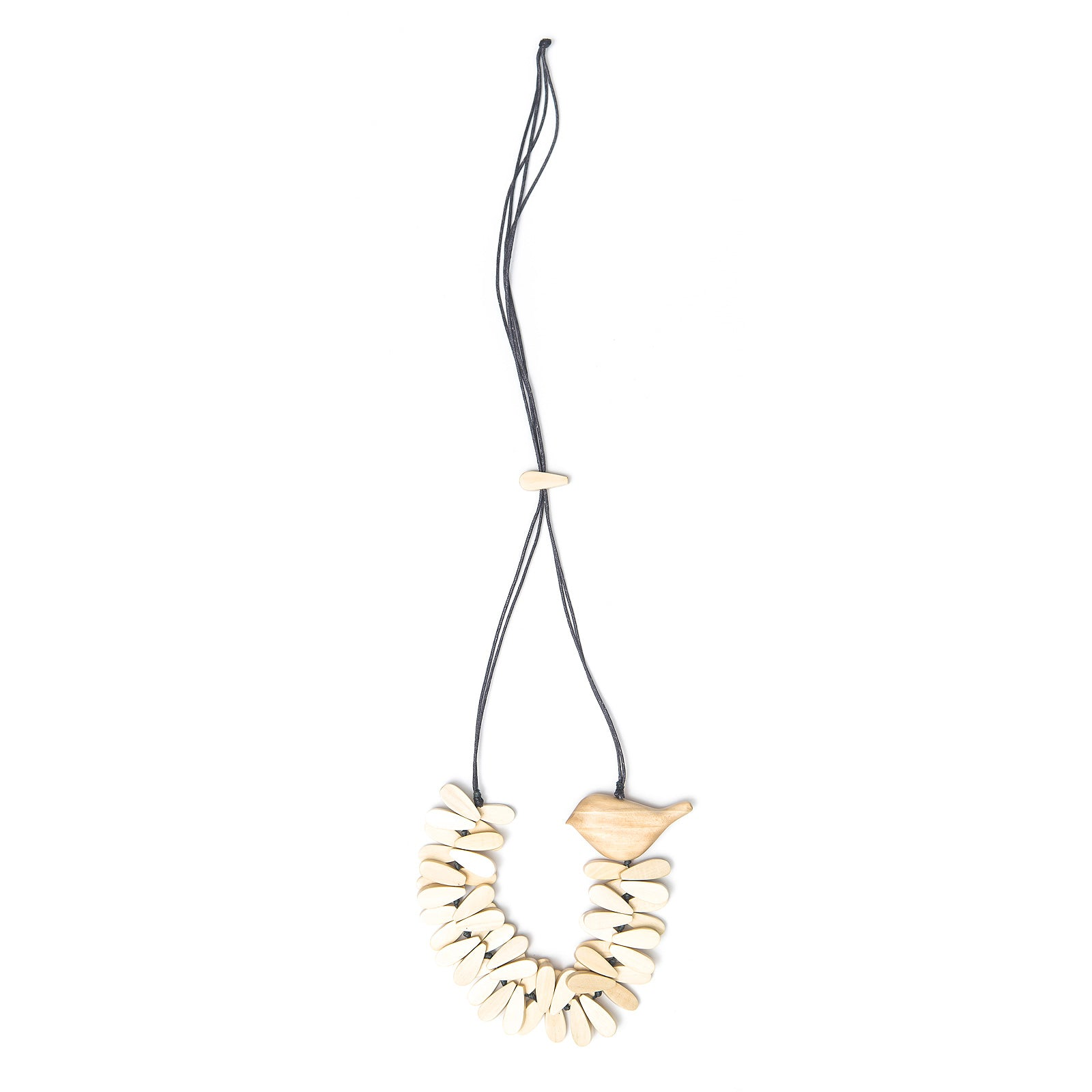 Well-Rounded Birdie necklace