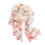 Fluro Stripes scarf