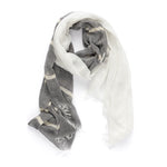 Silver Stripes scarf