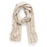 Thin Black Stripe scarf