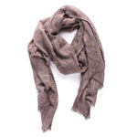 Rose Metallic Hash scarf