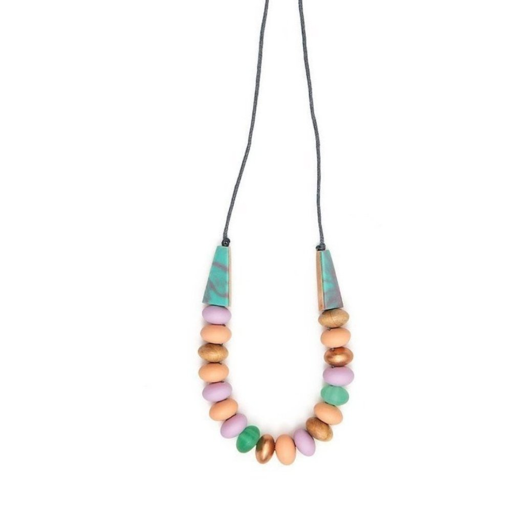 Marbled Mentos necklace