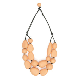 Organic drops 2 necklace