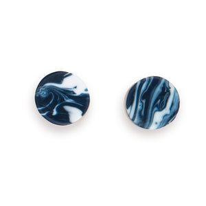 Marbled disc stud