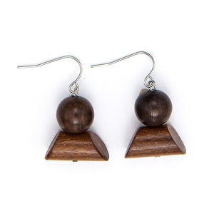 Floating Buoy drop earring