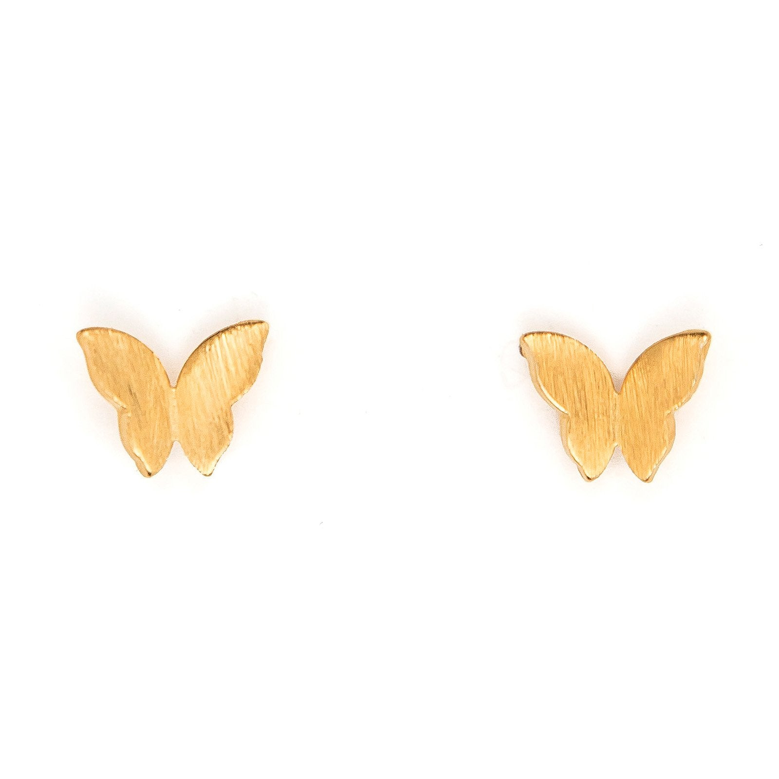 butterfly goldclear jewelry normal gallery york earrings gold lyst new stud sparklers kate spade dainty product