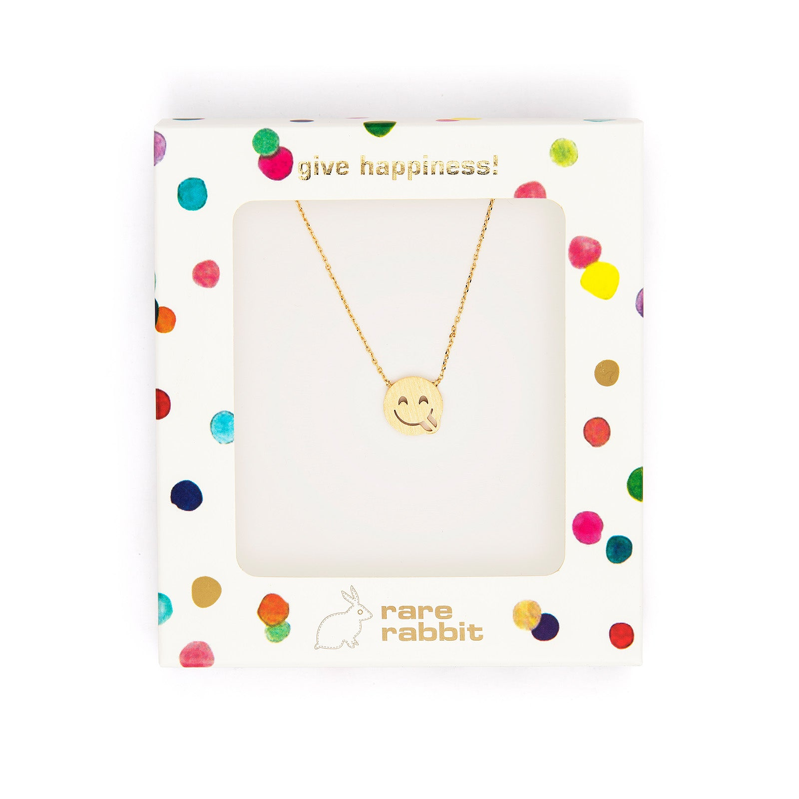 Smiley face necklace