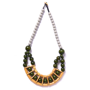 Compartmental necklace
