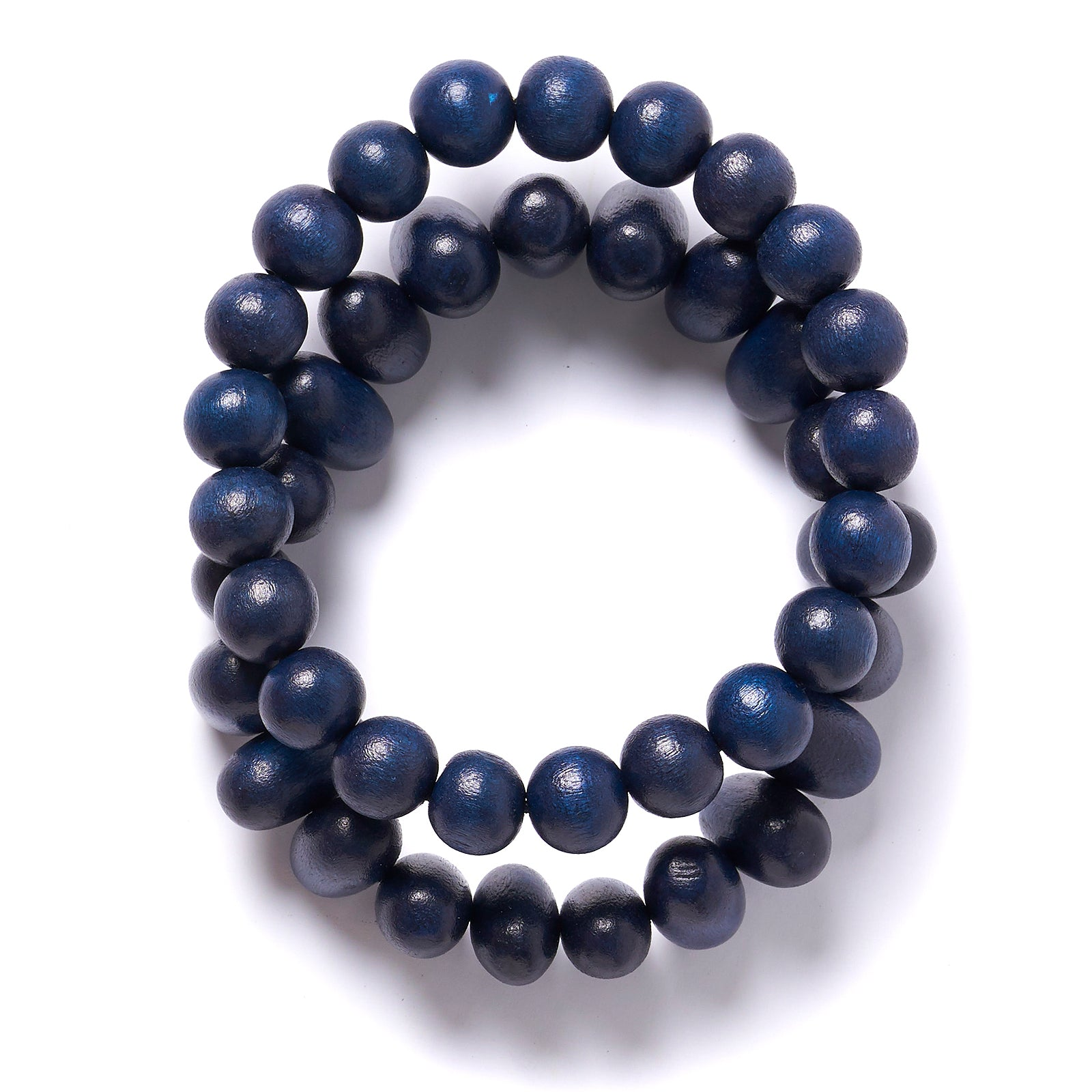 Eliptical and Mixed Ball 2 strand bracelet