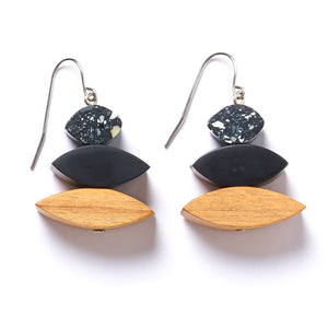 Eclipse drop earring