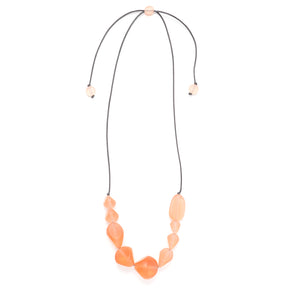 Cascading Pebbles necklace