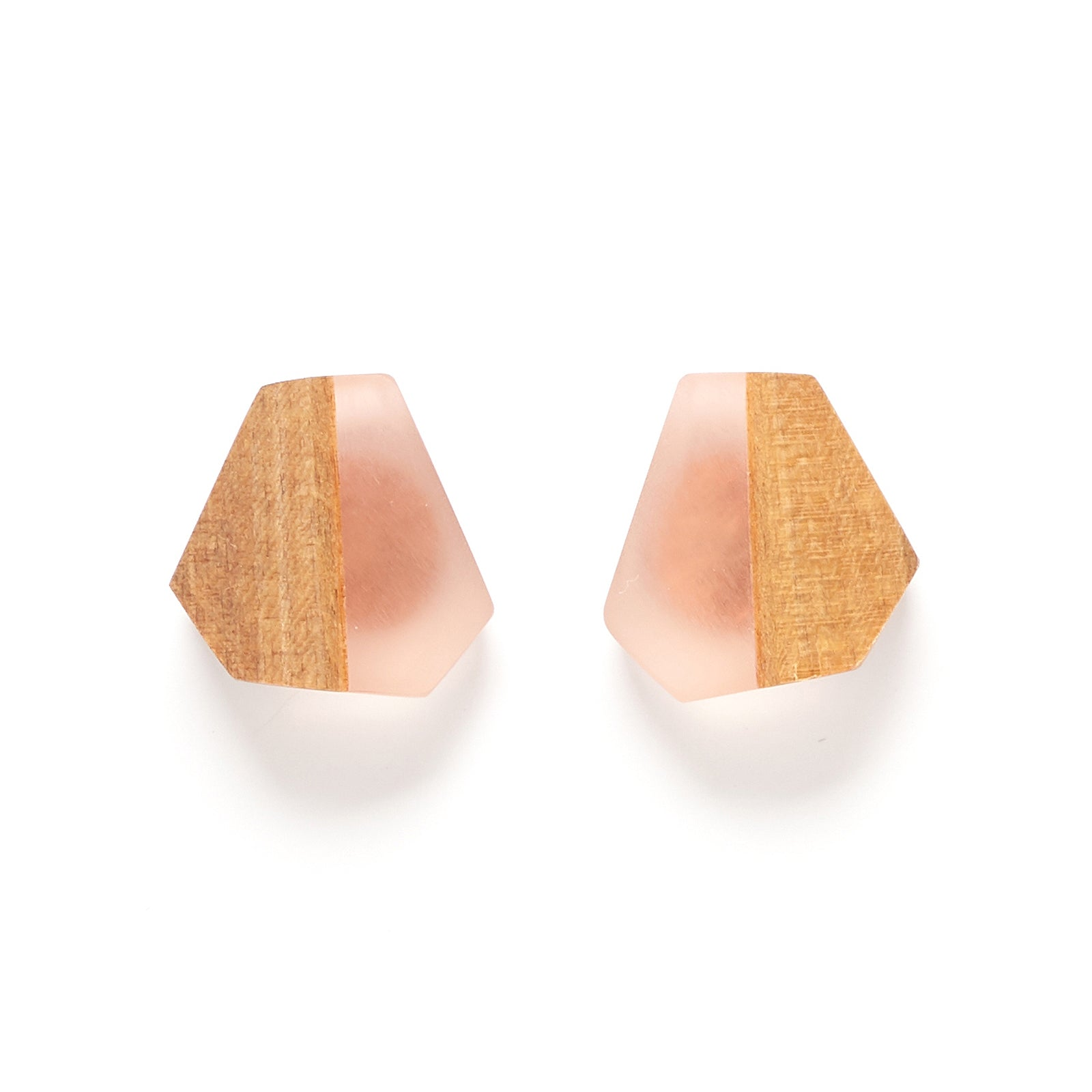 Faceted Moth stud