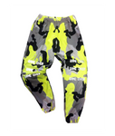 Game Over Neon Camo Pants