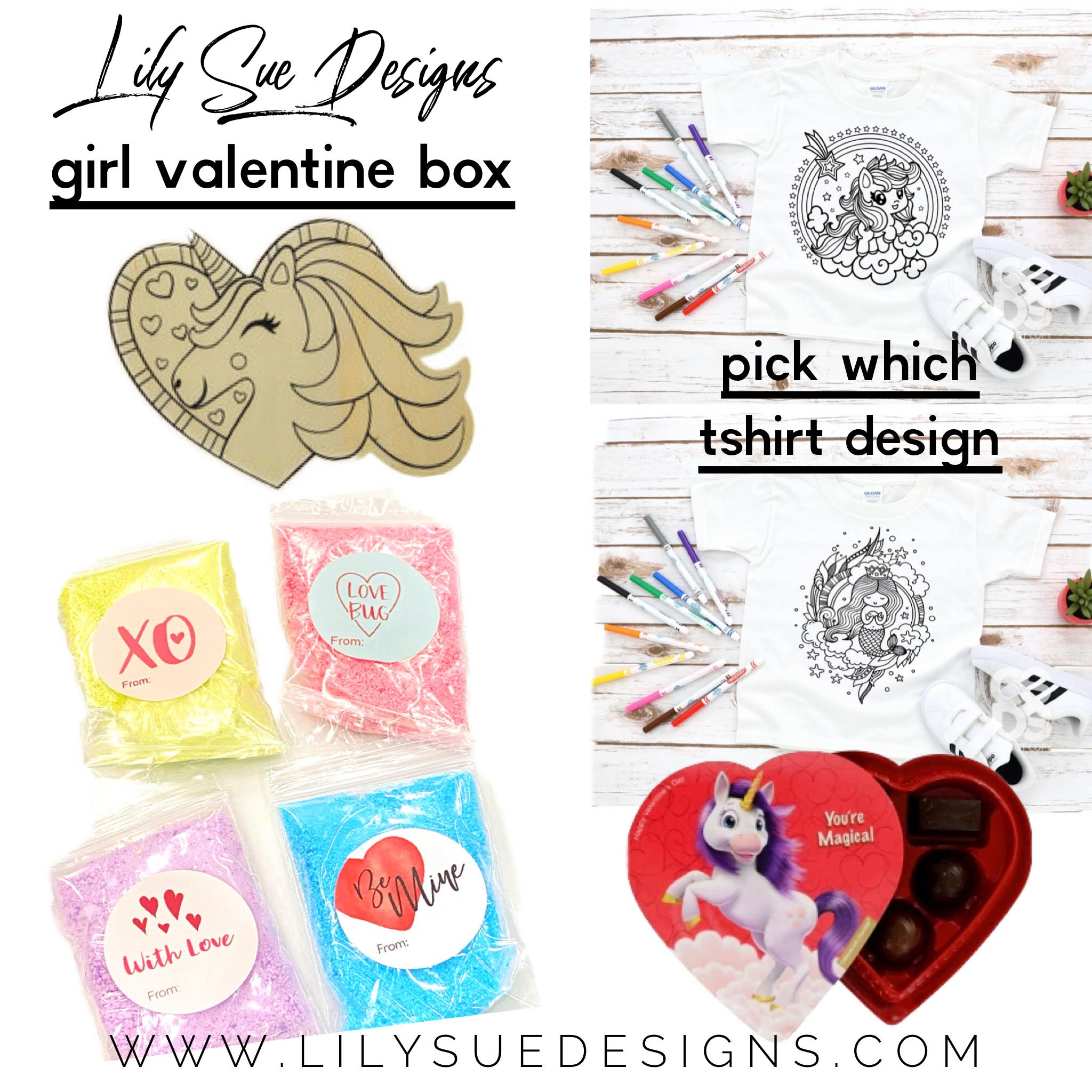 Girls Valentines Box