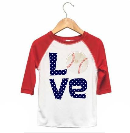 Baby/Toddler Baseball Raglan