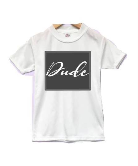Just Kids White Tee
