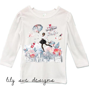 Mary Poppins Girly Tee