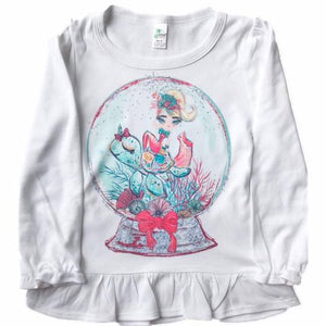 Christmas Mermaid Long sleeve tees