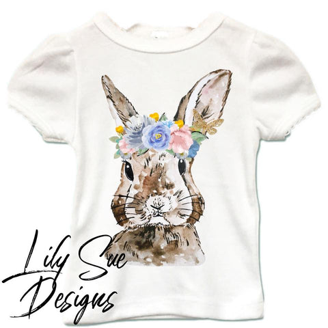 M2M Blossom Bunny Girly Tee