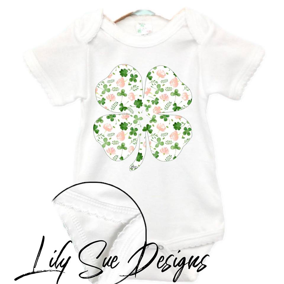 St. Paddy Day Girly Onesie