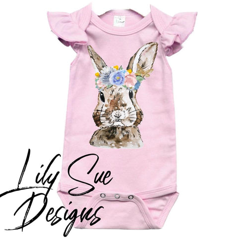 Blossom Crowns M2M Bunny Onesie
