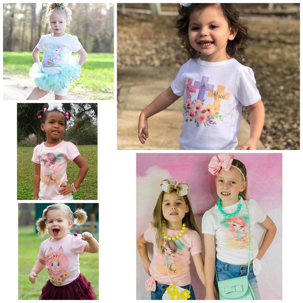 Easter Girly Tee