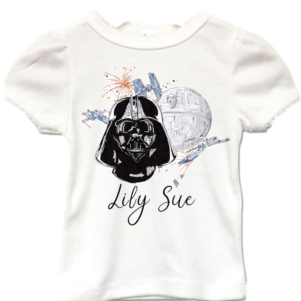 The Force Girly Tee