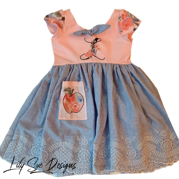Floral Initial Dress