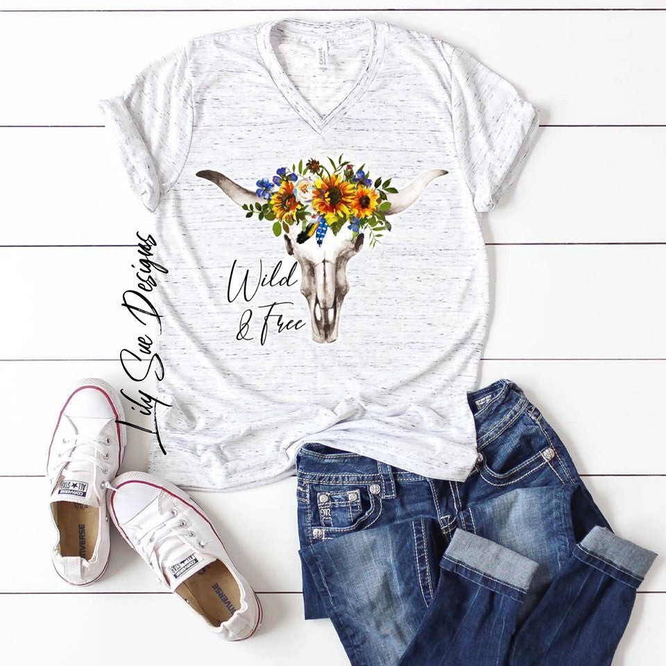 Sunflower Marble Tee