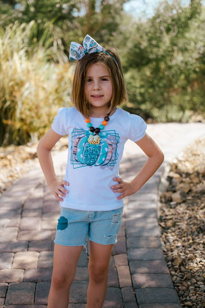 Teal Pumpkin Short Sleeve Tees