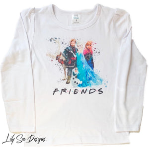 Let's get Frozen Long sleeve tees