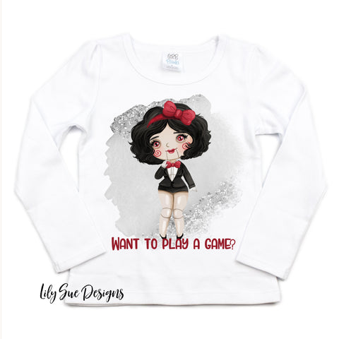 Scary Princesses Long Sleeve Tee