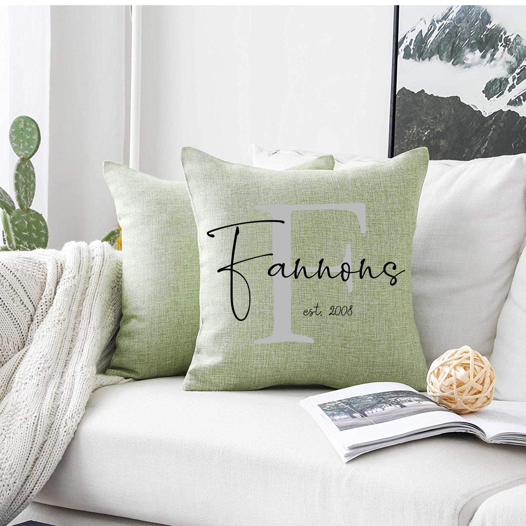 Spring Pillow Covers