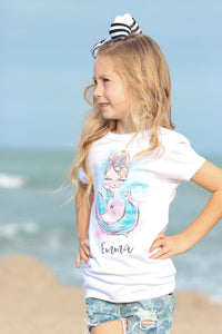 Mermaid Girly Tee