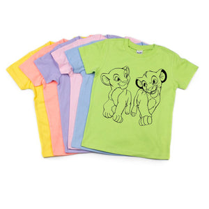Character Colored Tees