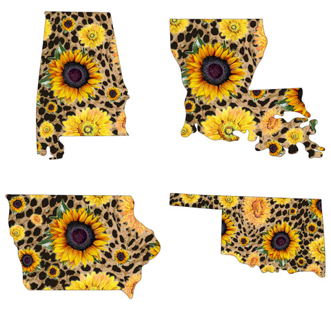State Sunflower Short Sleeve Tees