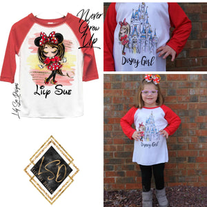 Minnie Girl Raglan