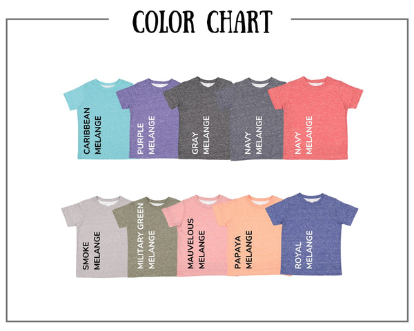 Sibling Colored Short Sleeve Tee