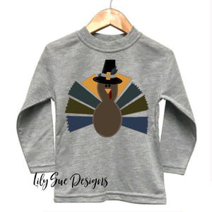 Boy Turkey Long sleeve tees