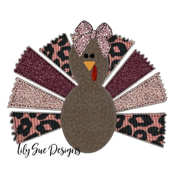 Girl Turkey Long sleeve tees