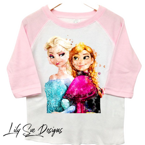Let's get Frozen Baby/Kid Raglan