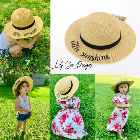 Kids Little Sunshine Sun Hat