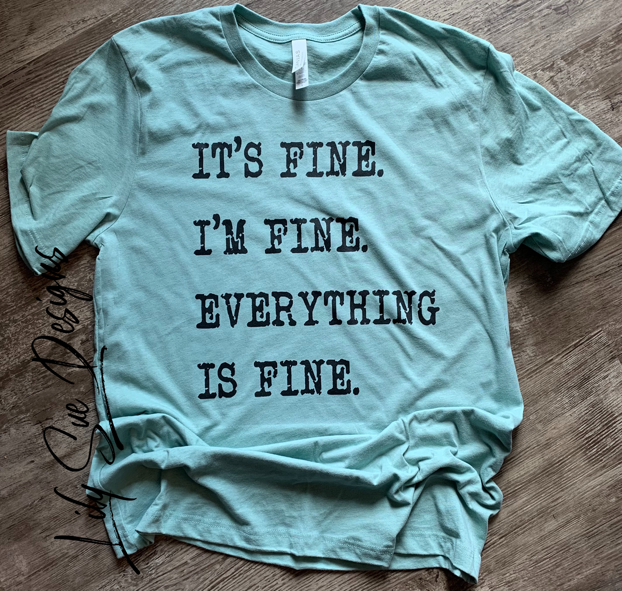 I'm fine its fine Size Large