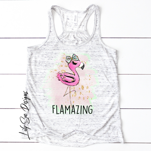 Flamazing Adult Tee