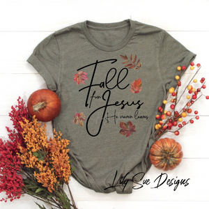 Fall for Jesus Kid Tee