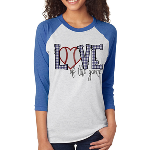 Sports Baseball Adult Raglan