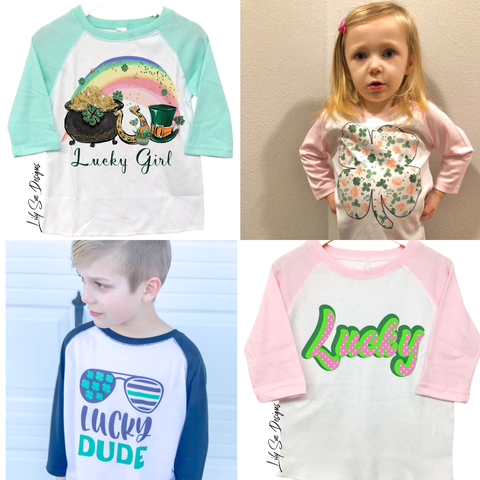 Lucky Kid Raglan