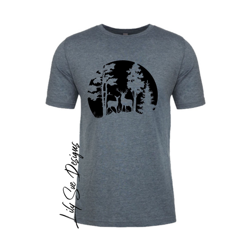 Adult Nature Tee solid color