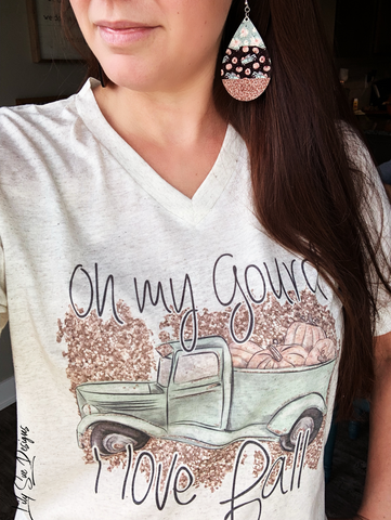 Oh My Gourd Adult Tee